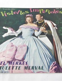 """Disque vinyle - 33 T - Violettes Impériales - Théâtre Mogador - Collection """"les opérettes célèbres"""""""