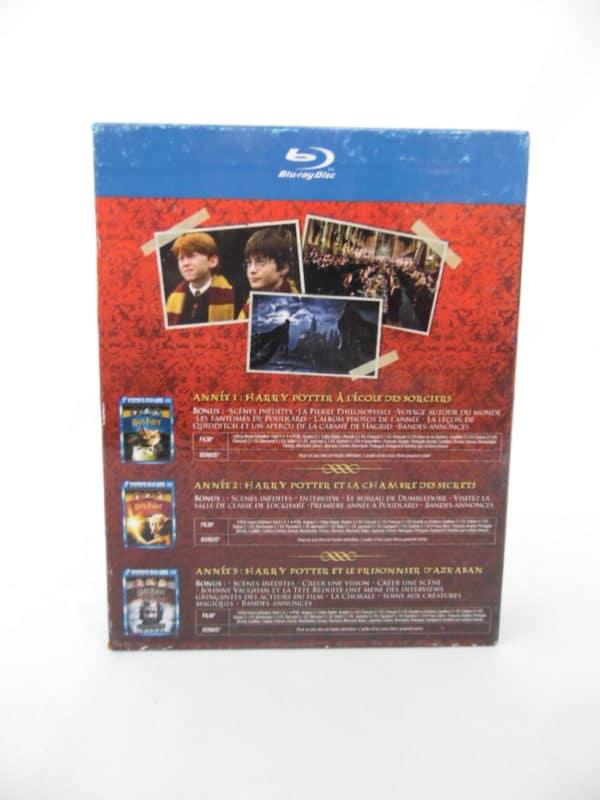 Blu-Ray - Coffret Harry Potter 1 à 3