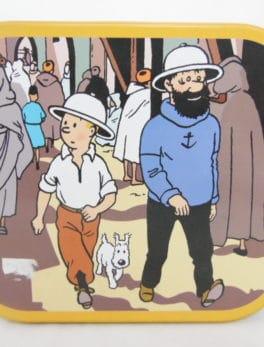 Boite en métal Tintin
