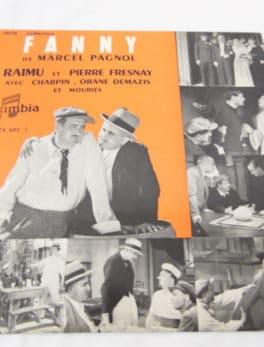 Disque vinyle - 33 T de 25 cm - Microsillon - Marius de Marcel Pagnol - Série collection