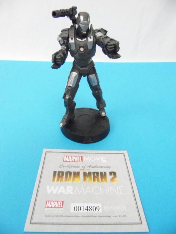 Figurine Marvel Movies collection Eaglemoss - Iron Man 2 - War machine - Avengers