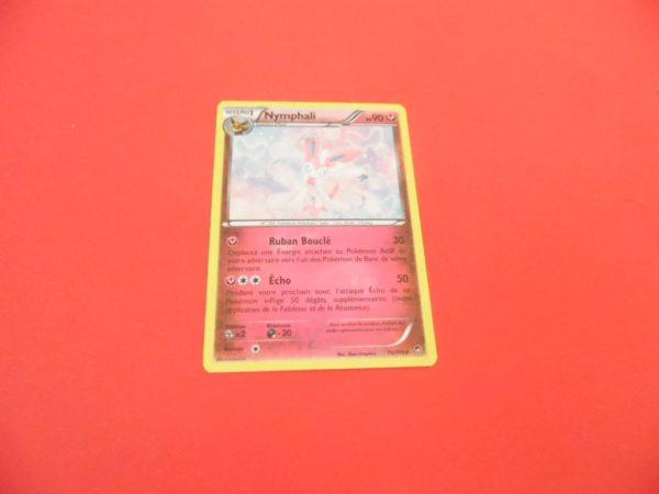 Carte Pokémon FR - Nymphali 190PV Holo - 72/111 - XY Poings Furieux