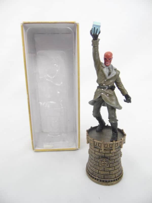 Figurine Marvel jeux d'échecs N°7 - Crane rouge