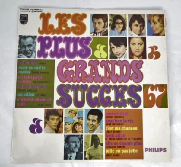 """Disque vinyle - 33 T - Les plus grands succès 67"""""""