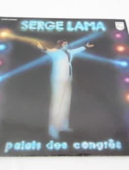 Disque vinyle - 33 T - Serge Lama - Palais des congrès