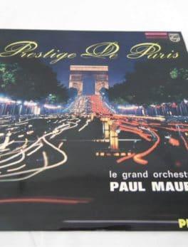 Disque vinyle - 33 T - Prestige de Paris - Le grand orchestre de Paul Mauriat