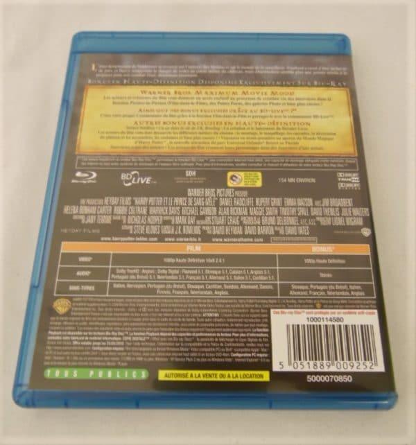 DVD Blu-Ray - Harry Potter - Et le prince de sang mêlé