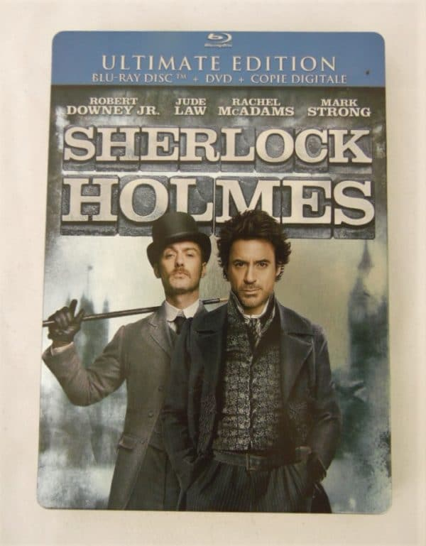 Blu-Ray - Sherlock Holmes - Ultimate édition