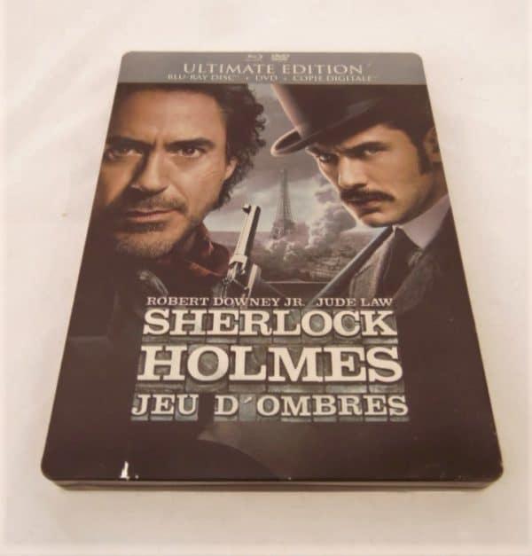 Blu-Ray - Sherlock Holmes - Jeu d'ombres - Ultimate édition