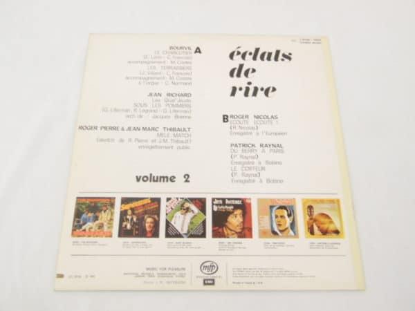 Disque vinyle - 33 T - Eclats de rire Vol 2
