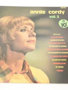 Disque vinyle - 33 T - Annie Cordy - Vol.3
