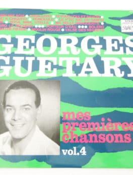 Disque vinyle - 33 T - Georges Guétary - Mes Premières Chansons Vol.4