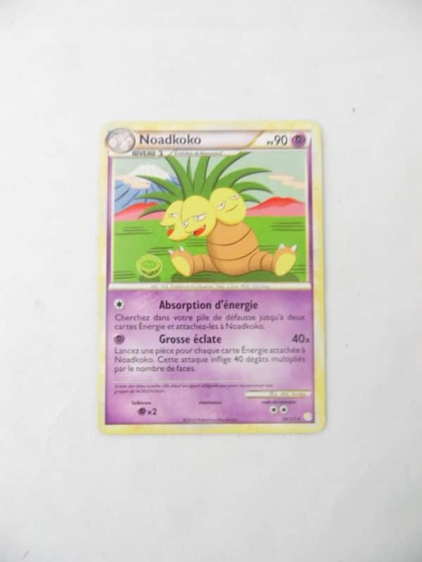 Carte Pokemon FR - Noadkoko 90PV - 18/123 - HeartGold SoulSilver