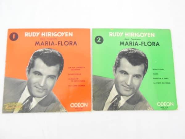 Disque vinyle - 45T - Rudy Hirigoyen