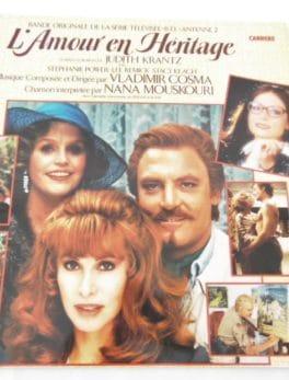 Disque vinyle - 33 T - L'amour en héritage - Bande originale de la série TV