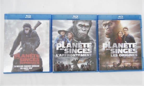 Coffret 3 Blu-Ray - La planète des singes - La trilogie