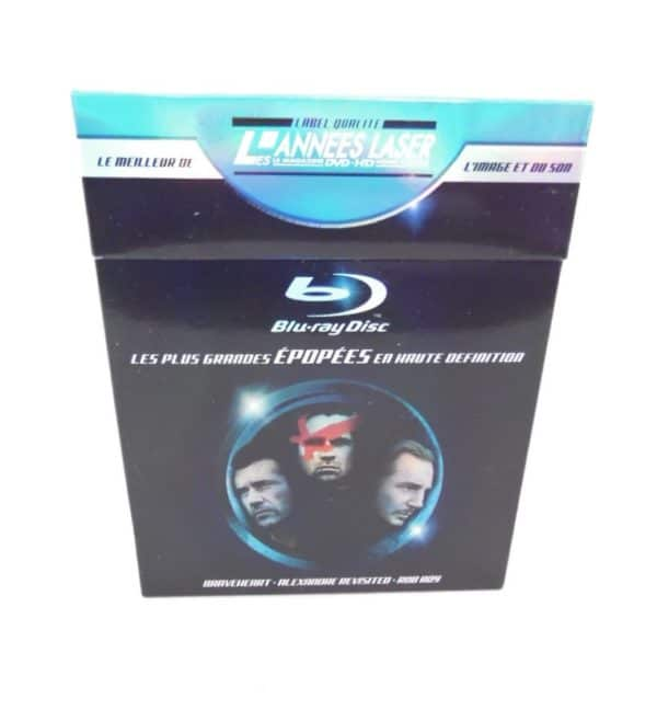 Coffret 3 Blu-Ray - Les plus grandes épopées en haute définition