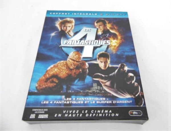 Coffret 2 Blu-Ray - Les 4 Fantastiques
