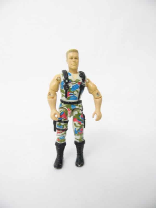 Figurine GI Joe - Street Fighter - J.C. Vandamme - Rock Trooper Guile