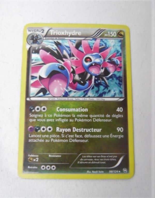 Carte Pokemon FR - Trioxhydre 150PV - 98/124 - Noir & Blanc Dragons Exaltés