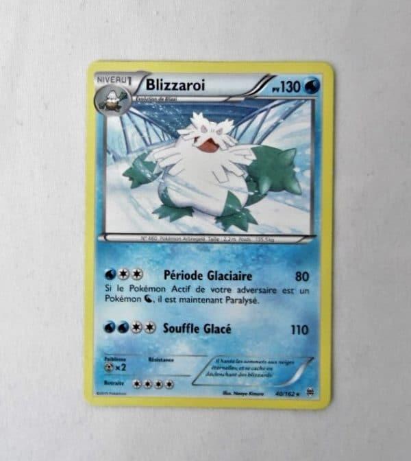Carte Pokemon FR - Blizzaroi 130PV - 40/162 - Impulsion Turbo