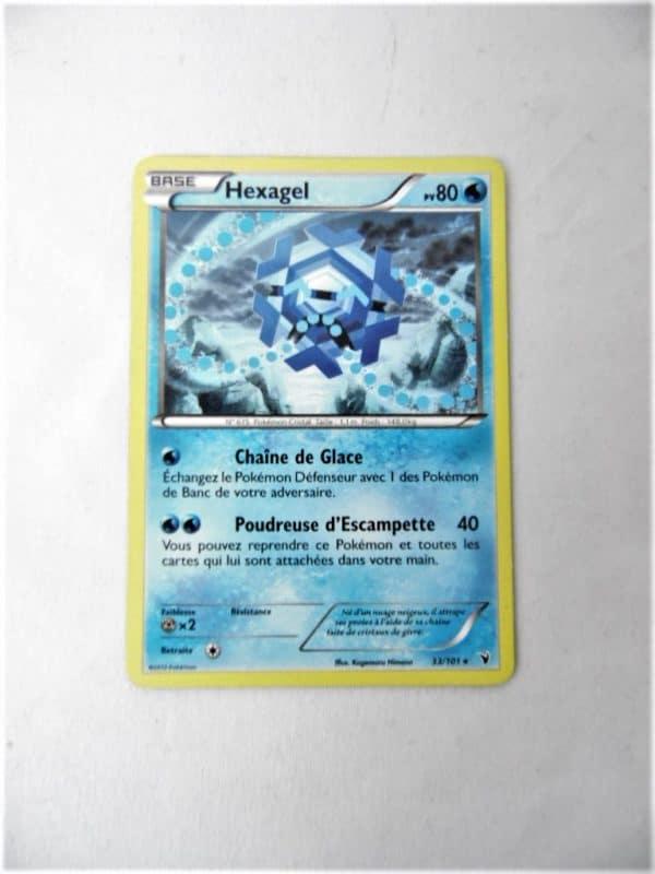 Carte Pokemon FR - Hexagel 80PV - 33/101 - Nobles Victoires