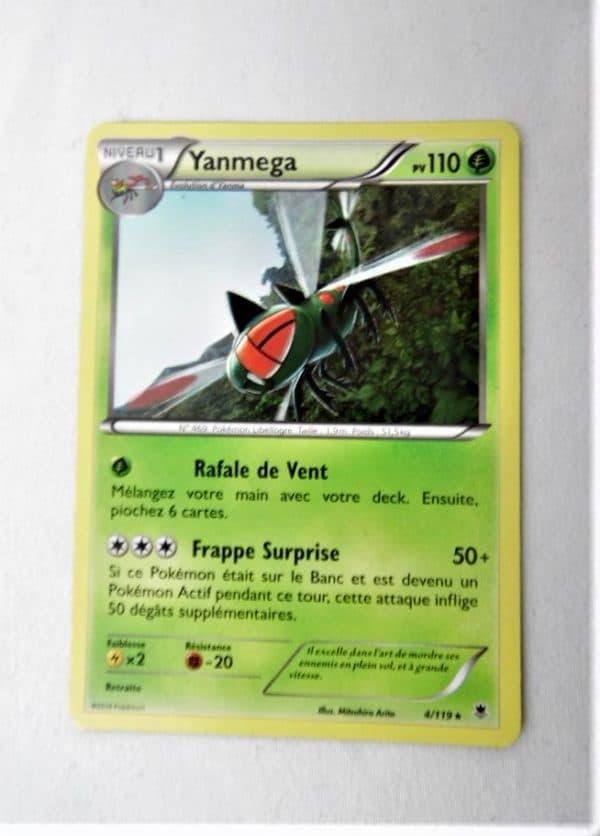 Carte Pokemon FR - Yanmega 110PV - 4/119 - XY Vigueur Spectrale
