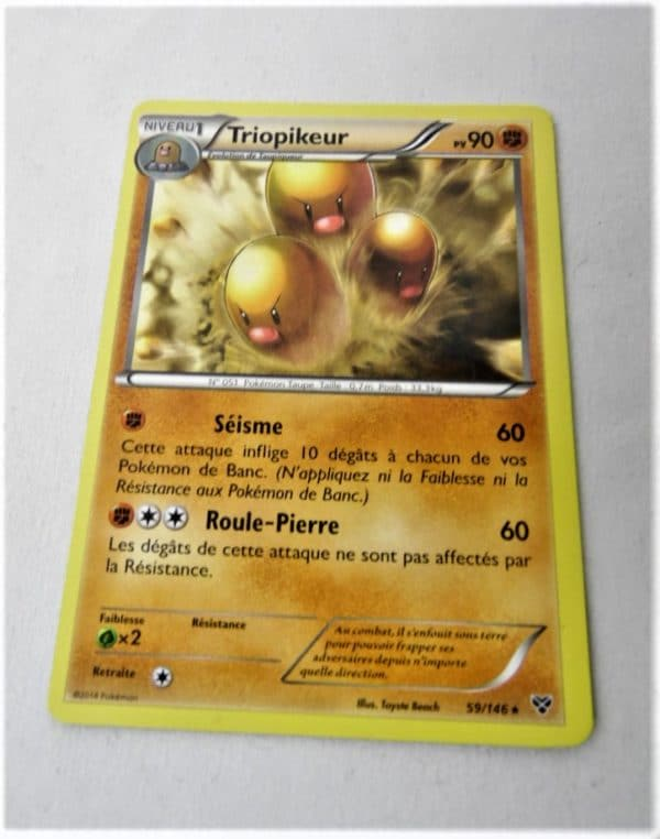 Carte Pokemon FR - Triopikeur 90PV - 59/146 - XY