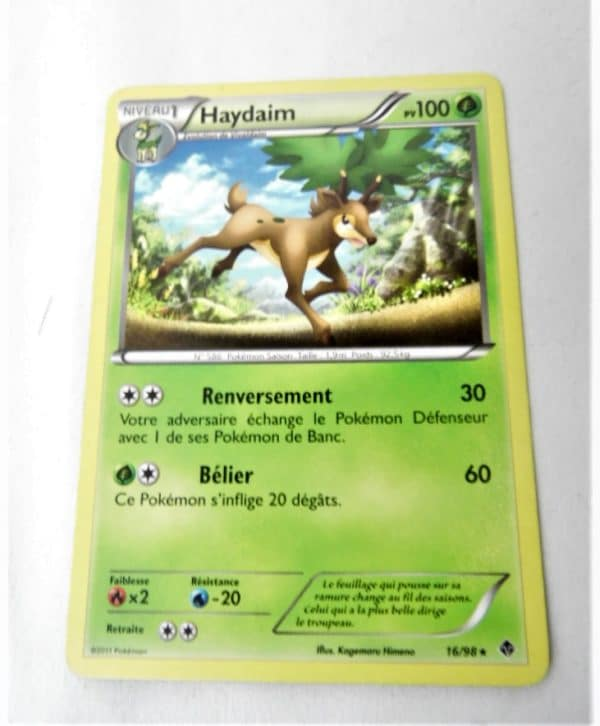Carte Pokemon FR - Haydaim 100PV - 16/98 - Pouvoirs Émergents