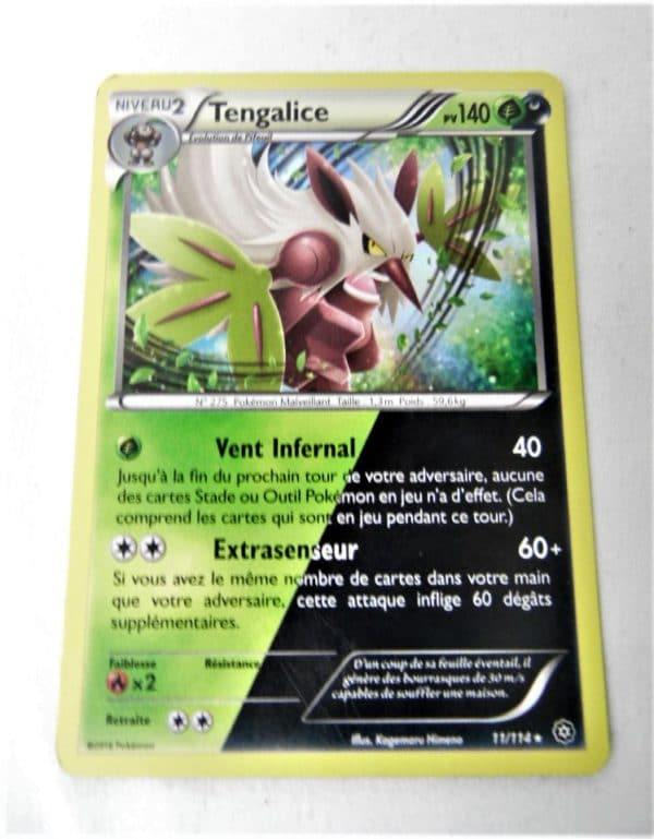 Carte Pokemon FR - Tengalice Holo 140PV - 11/114 - Offensive Vapeur