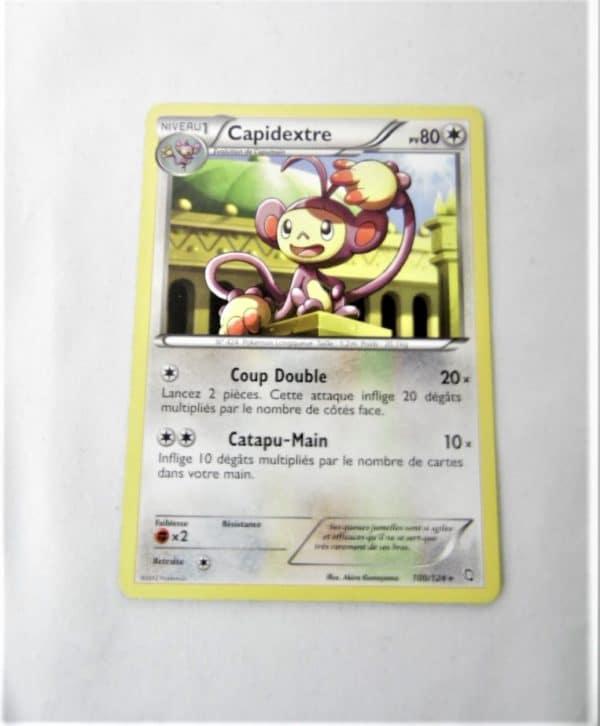 Carte Pokemon FR - Capidextre 80PV - 100/124 - Dragons Exaltés