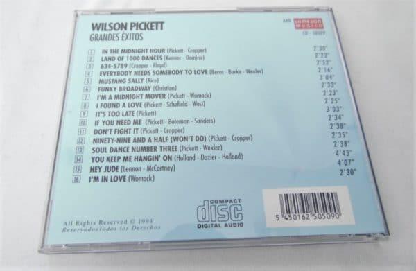 CD Wilson Pickett - 16 Grandes Exitos