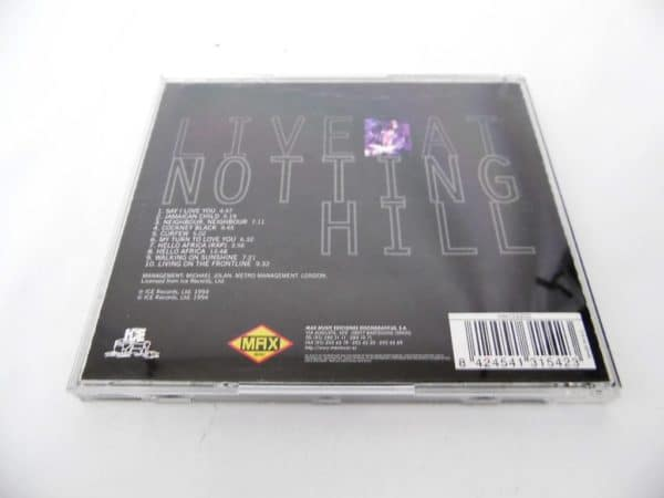 CD Eddy Grant - Live at Notting Hill