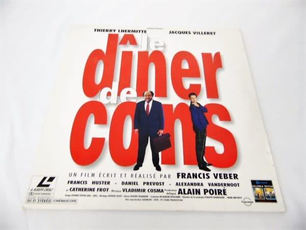 Laserdisc - Le dîner de cons