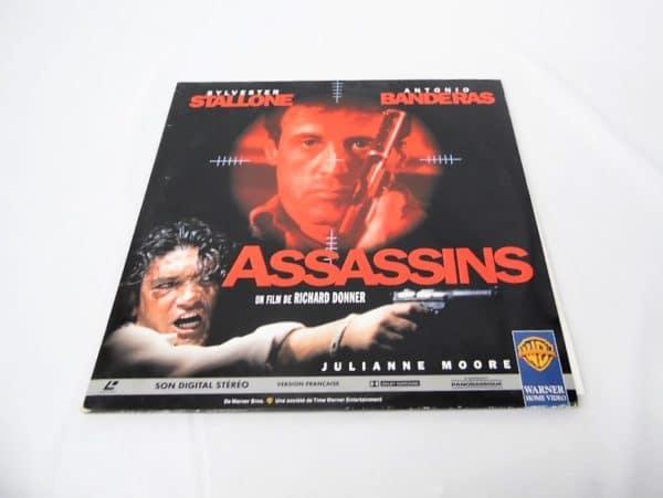 Laserdisc - Assassins - Stallone / Banderas