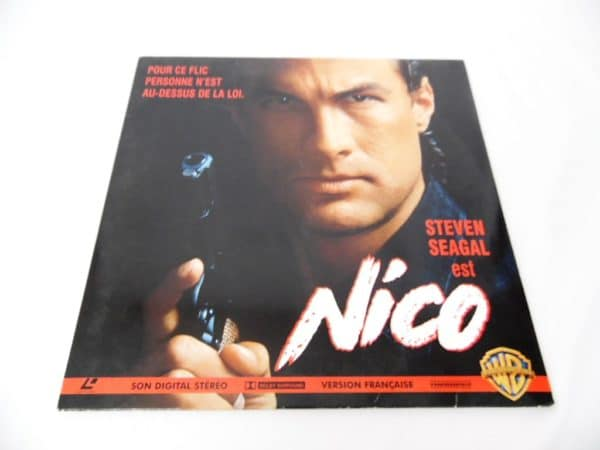 Laserdisc - Nico - Steven Seagal - vendu par iqoqo-collection