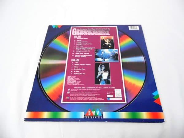 Laserdisc - Gloria Estefan - Homecoming concert