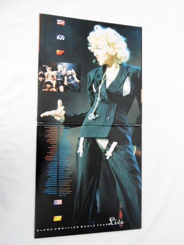 Laserdisc - Madonna - Blond Ambition World Tour - Live