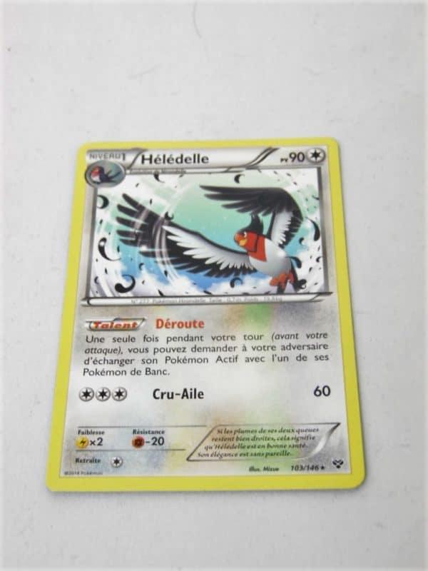 Carte Pokemon FR - Hélédelle 90PV - 103/145 - XY