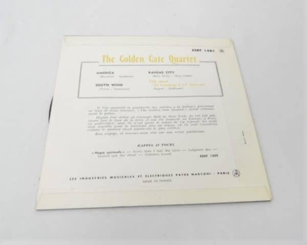 Disque vinyle - 45T - The Golden Gate Quartet