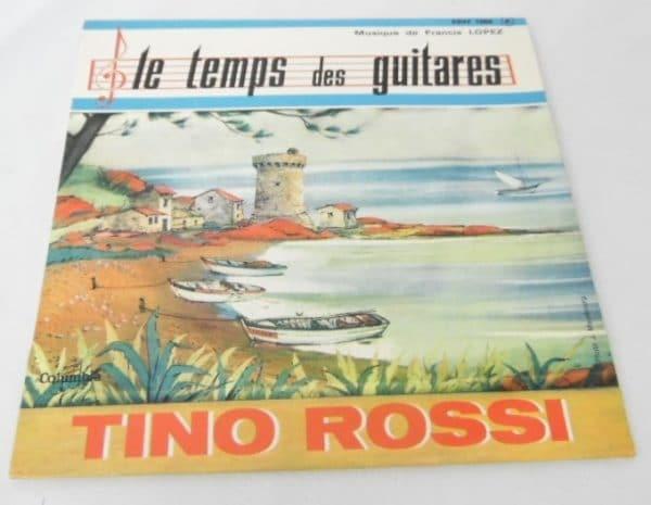 Disque vinyle - 45T - Tino Rossi