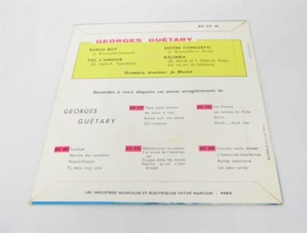 Disque vinyle - 45T - Georges Guétary