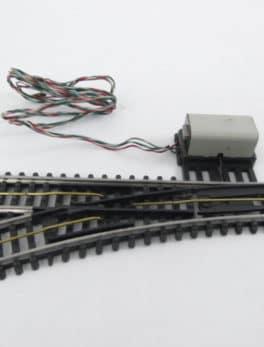 Aiguillage électromécanique JEP HO - 3 rails