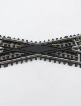 Croisement droit JEP HO - 3 rails