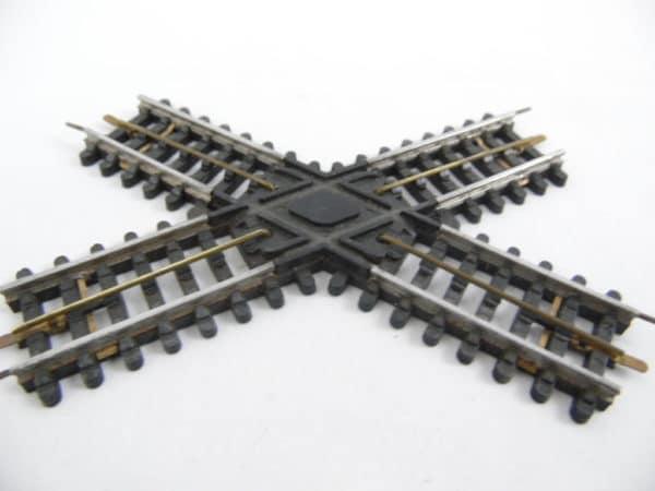 Croisement oblique JEP HO - 3 rails - XOE 12