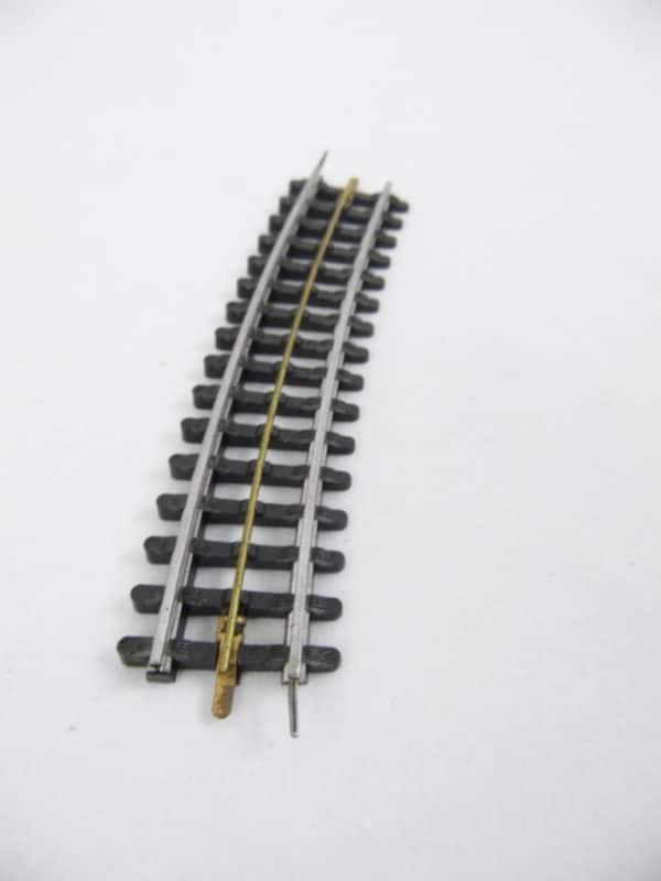 Voie JEP HO - 3 rails - Rail Courbe Standard avec Devers
