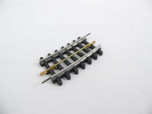 Voie JEP HO - 3 rails - Rail Courbe Standard avec Devers - 6cm