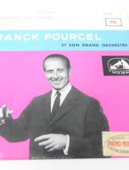 """Disque vinyle - 45 T - Frank Pourcel et son grand orchestre - """"évasion"""""""