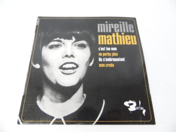 Disque vinyle - 45 T - Mireille Mathieu - Barclay 70953