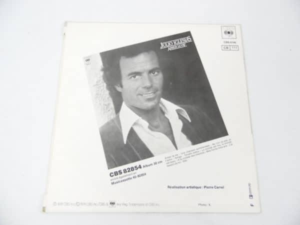Disque vinyle - 45 T - Julio Iglesias